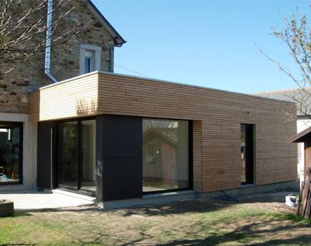 extension de maison en bois Maubeuge