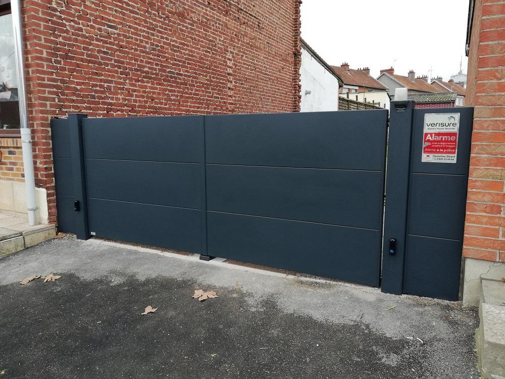 Installation de portail à aulnoye-Aymeries